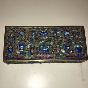 Antique Turquoise Jewelry Box 🎁✨